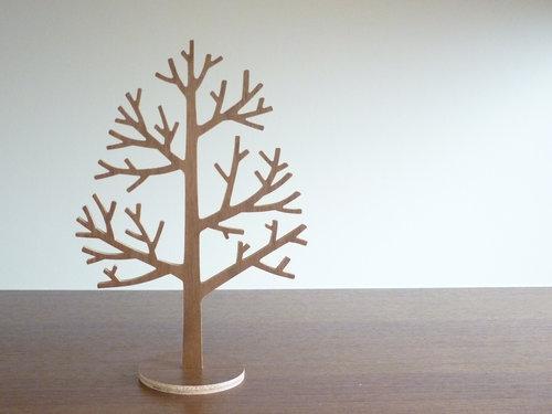 木のツリーオブジェ 1