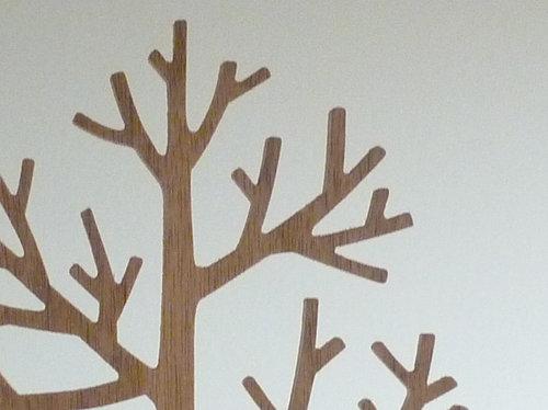木のツリーオブジェ 2