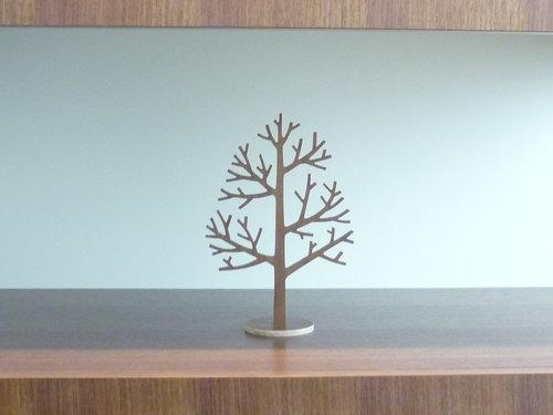 木のツリーオブジェ 3