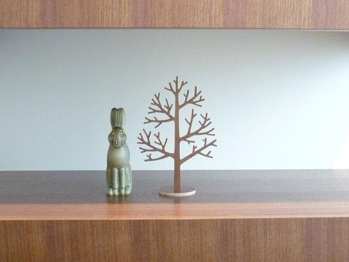 木のツリーオブジェ 4